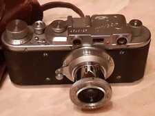 Camera Zorki  is a Soviet rangefinder. lens industar - 22 № 175382
