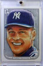 2018 18 Topps Museum Canvas Collection Derek Jeter #CC-17, New York Yankees