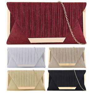 Women's Clutch Bag Evening Party Fashion Purse Ladies Ladies Shoulder Bag