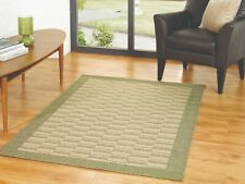 Modern Home Decor Flatweave outdoor and indoor Green Rug in 120 x 170 cm Carpet