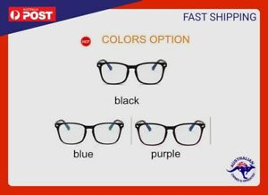 AU Blue light Blocking Computer Gaming Glasses Spectacles Anti Eyestrain Eyewear