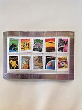 2006 Rock Posters set of 10 in Mini Sheet MUH/MNH