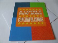 A Lovely New Home .............Congratulations Greetings Card.