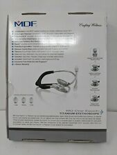 Mdf Md One Epoch Lightweight Titanium Stethoscope Adult Free Parts For Life