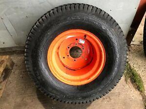 Pair of rear wheels/tyres 31x13.5-15 X Kubota B7200HST-D tractor / D950 £180+VAT