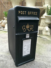 Fonte gr post box royal mail post box noir vintage post box noir