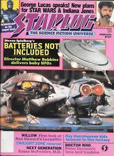 Starlog #127 -- Feb 1988 -- SW, IJ, Willow, DW