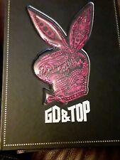 CD GD&TOP High High First Bunny Korea Press G-Dragon T.O.P BIGBANG pink edition