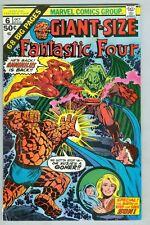 Giant-Size Fantastic Four #6 October 1975 G/Vg Book Length Story