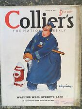 Collier's Magazine   January 29,1938   *Jay Irving*  GREAT ADS