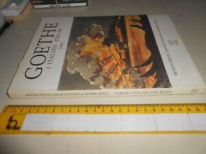 LIBRO: GOETHEV I ITALIEN 1768-88 1999-MORTEN BEITER, JAKOB LEVINSEN & H. WIVEL