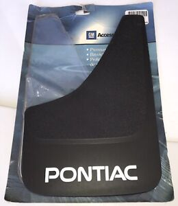 GM Premium Splash Guard PONTIAC Mud Flap Black # 12371106 Right ONE ONLY Unused!