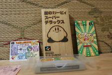 Hoshi no Kirby Super Deluxe Complete Set! Nintendo Super Famicom SFC VG!