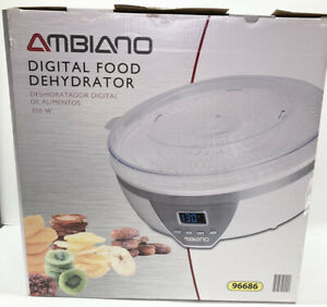 Ambiano Digital Food Dehydrator 5 Tray Fan Driven 96686