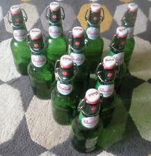 More details for 10 grolsch swing top green beer bottles 450ml