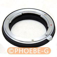 Nikon lens to 4/3 OM adapter Olympus E3 E520 E420 E410