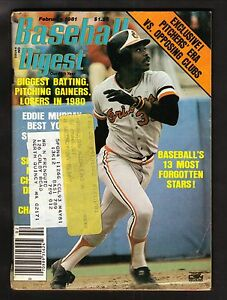 Eddie Murray--Baltimore Orioles--1981 Baseball Digest