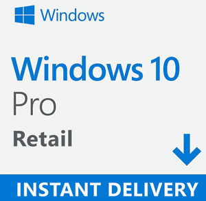 W.I.N 10.PRO EDITION (KEY_TO_ACTIVATE) Same Day despatch