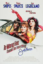 TO WONG FOO... (1995) ORIGINAL MINI 11 X 17 MOVIE POSTER  -  ROLLED