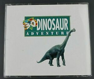 Used 3-D Dinosaur Adventure Knowledge Adventure CD-ROM for MS-DOS