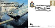 CC53 RAF 60th ann MOTORE Supermarine Spitfire BATTAGLIA D'INGHILTERRA 19 & 80 SQD. COVER