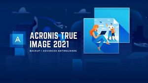 Acronis True Image 2021 - 5 Device - (No Box or CD - Download only)