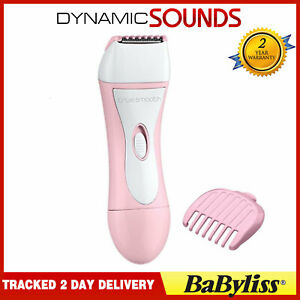 BaByliss True Smooth Battery Operated Women Bikini Trimmer Travel Shaver Wet/Dry