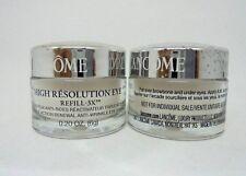 Lot/2 Lancome High Resolution Eye Refill-3x ~ 0.20 oz / each ~ Read Description