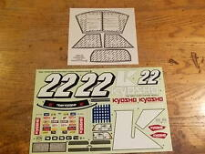 39952-1 Dodge Ram On Road Truck Decal Set - Kyosho Pure Ten TF-2 TF-3 Mantis