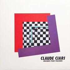 CLAUDE CIARI Musiques Pour Toujours JAPAN Press Barclay L25B-1036 1982 LP