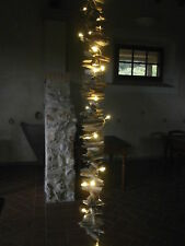 Girlande 1,40m Treibholz Holz natur Shabby chic Deko Weihnachten Garten Schwemm