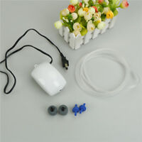 Aquarium Efficient Air Pump Silent Oxygen Fish Tank Bubble Single Outlet Plug,,