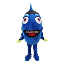 Dory The Blue Fish Mascot Costume From Finding Nemo Halloween Fancy Dress Adult