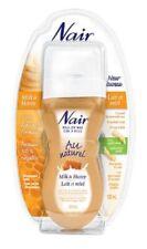 2 x NAIR Hair Remover Roll On Milk Honey Wax Sensitive Microwave 100 ml 3.4 oz