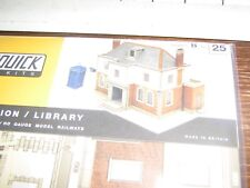 SUPERQUICK MODEL KIT - B25 - POLICE STATION OR LIBRARY - 00 & HO GAUGE