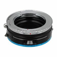 Fotodiox Objektiv-Shift-Adapter Pro Contax/Yashica Linse für Fujifilm X Kamera