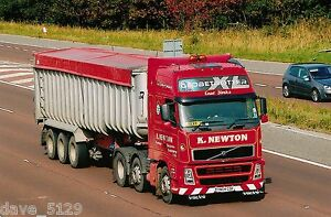 Truck Photo: K NEWTON Haulage Ltd - VOLVO FH12 - YN04 GDF - Hornsea E. YORKSHIRE