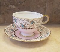 VINTAGE Melba Bone China  made in England-cup and saucer- A160 Pattern