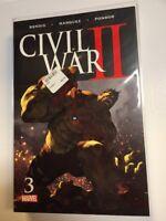 Civil War II #3 First Printing Comic Book Marvel Bendis