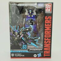 Transformers Generations Studio Series AUTOBOT TOPSPIN 63 Deluxe Class Figure