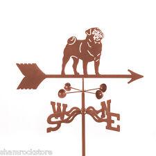 Dog - Pug Weathervane - Weather Vane - Mastiff - Complete w/ Choice of Mount