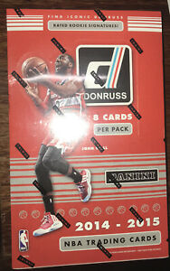 2014-15 DONRUSS BASKETBALL FACTORY SEALED HOBBY BOX