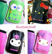 Sanrio PU Leather Digital Camera Cell Phone iPhone 4 Sleeve Pouch Cover Case Bag