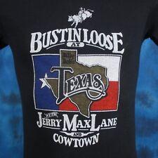 vintage 80s BILLY BOB'S TEXAS JERRY MAX LANE HONKY TONK T-Shirt XXS cowboy bar
