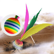 Game Outdoor Kids Beach Rubber Shuttlecock Feather Badminton Balls