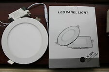 10 X 12w Downlight Led Superficial vacío 6000k white/opal acabado 155mm Corte par38size