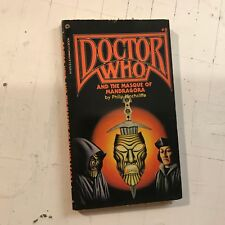 DOCTOR WHO AND THE MASQUE OF MANDRAGORA #8 Hinchcliffe philip '82 sci-fi pb book