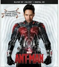 Ant-Man [New Blu-ray 3D] With Blu-Ray, 2 Pack, Ac-3/Dolby Digital, Digitally M