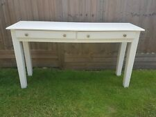 Farrow & Ball Painted Long Console / Sofa Table 2 Drawer Collection Leeds