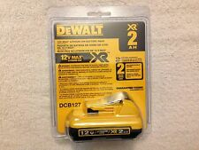 New Dewalt DCB127 12V 12 Volt Max 2.0Ah XR Battery Lithium Ion Li-Ion NIB